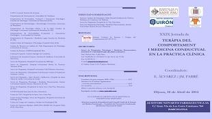 XXV Jornada de Teràpia del Comportament i Medicina Conductual a la Pràctica Clínica