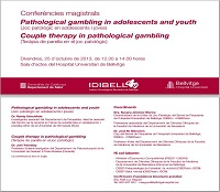 Conferències magistrals sobre Pathological Gambling