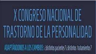 X Congrés Nacional sobre Trastorns de la Personalitat